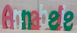 puzzle letter wooden name plaques kids toddlersname With wooden letter puzzle