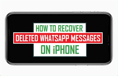 how to retrieve deleted emails on iphone how to recover deleted whatsapp messages on iphone