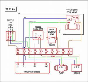 Heating  Y Plan Heating Diagram