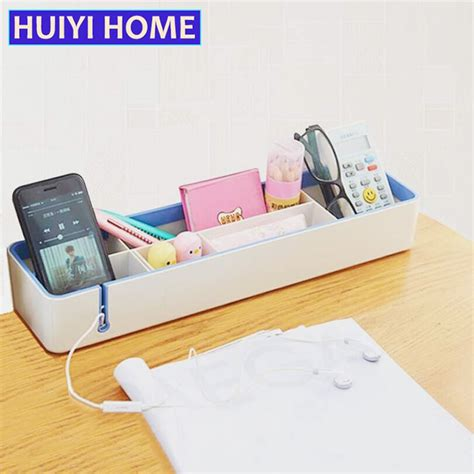 Office Desk Tools by Huiyi Home Removable Plastic Storage Box Office Desk