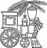 Coloring Train Christmas Pages Printable Trains Quilt Caboose Drawing Wagon Santa Sheets Printables Template Supercoloring Fe Ornament Railroad Underground Choo sketch template