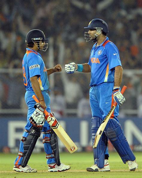 raina  yuvraj major boosts dhoni cricket