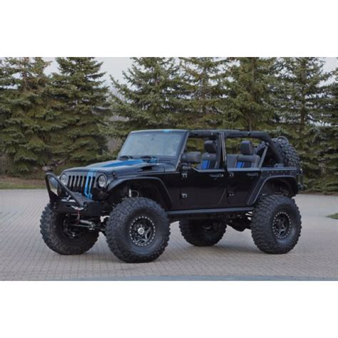 jeep blue and black black and blue racing stripe jeep wrangler unlimited w