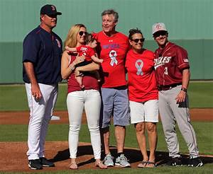 Pete Frates Honored Before Red Sox-Boston College Game in ...