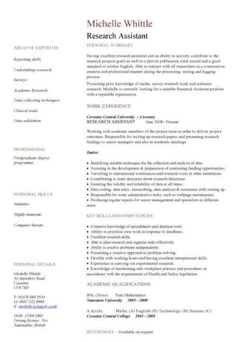 cv template research scientist nifty engineering
