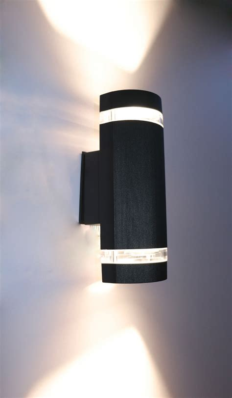 semi cylinder up indoor outdoor exterior wall light