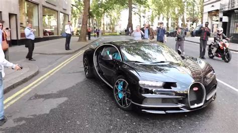 Bugatti Chiron Startup by Bugatti Chiron In Startup Loud Revs