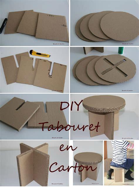möbel aus pappe bauanleitung diy tabouret en bricol et muebles de cart 243 n karton pappe y karton m 246 bel