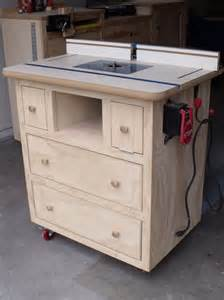 router table cabinet plans