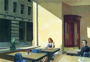 Sunlights in Cafeteria Edward Hopper WikiArt