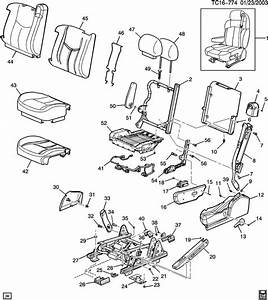 Chevy Tahoe Seat Parts