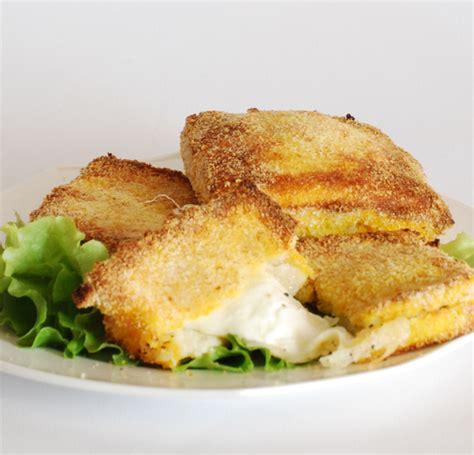 mozzarella in carrozza al forno senza uova mozzarella in carozza rezepte suchen