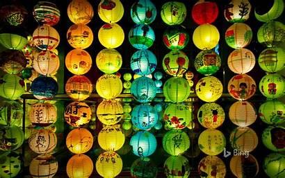 Lantern Festival Singapore Celebrating Autumn Display Mid