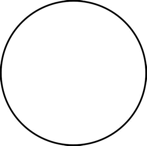 circle outline vector images black circle transparent