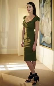 Size Chart 6 Inches Nigella Dress In Olive