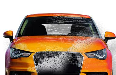 Orange Car Wash by Home Grand Central Station