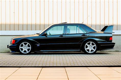 But the evo ii was a different thing. 1990 Mercedes-Benz 190E 2.5-16 Evolution II Auction | HYPEBEAST