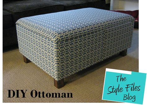 How To Build A Ottoman by Diy Ottoman Featured On Tiny House Nation The Style Files