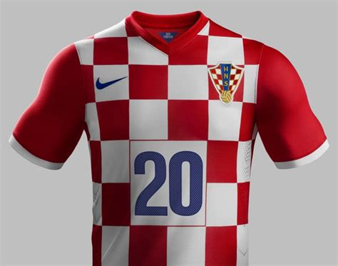 New Croatia World Cup Jerseys Nike Home Away
