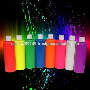 Neon Body Paint Uv Glows Under Blacklight Great For