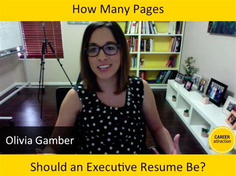 how many pages should a government resume be how many pages should my executive resume be career attraction
