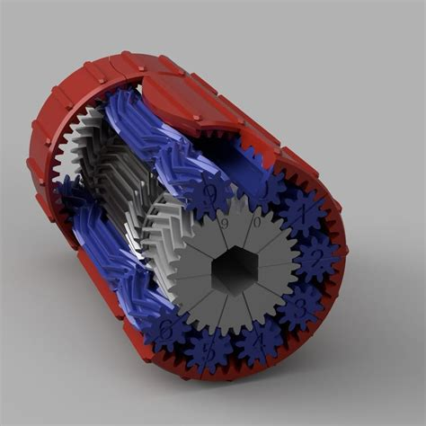 high torque  compound planetary gear set  gear
