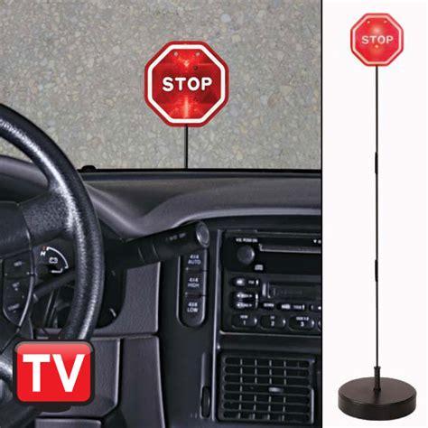 stop sign  garage parking aid garage parking aid