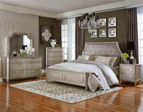 Standard Furniture Windsor Silver Grey 2pc Bedroom Set