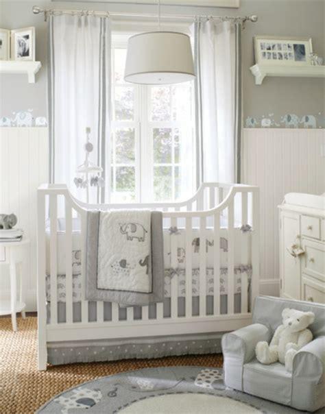 deco chambre bebe garcon gris le design de la chambre de bébé modernе en blanc archzine fr