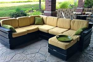 diy outdoor sectional build it yourself out of regular With outdoor wood sectional sofa plans
