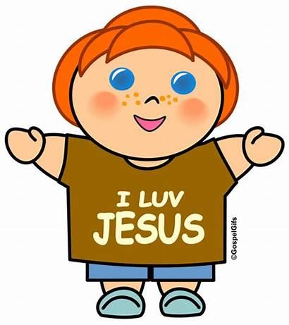 Christian Clip Clipart Jesus Children Church Cliparts