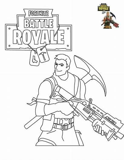 Fortnite Coloring Pages Printable Survivalist