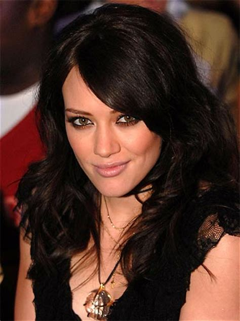 Brown Or Black Hair by Extream Fashion Hilary Duff Hair