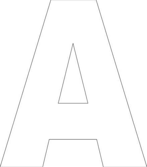 printable upper case alphabet template birthdays