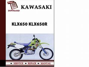 Kawasaki Klx650 Klx650r Workshop Service Repair Manual Pdf