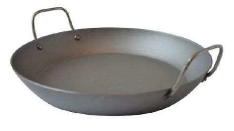plat  paella  naturel mauviel msteel  cm