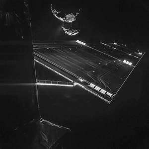 European Space agency releases first picture from comet