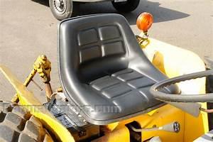 Seat - Cub Lo-boy 154  184  185 - Misc Seat Parts - Farmall Parts
