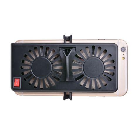 cell phone cooler adjustable usb cooler cooling fan pad holder stand