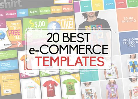 Best Ecommerce Template 20 Best E Commerce Templates Advertising Freebies
