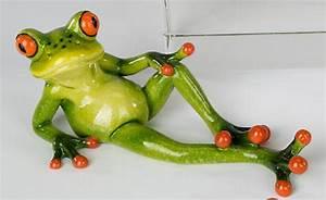 Frosch Als Haustier : einrichten24 eine gute entscheidung dekofigur lustiger frosch liegend 15 cm ~ Buech-reservation.com Haus und Dekorationen