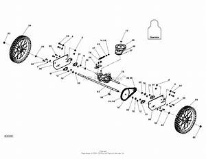 Dr Power Tr2 Self Propelled Parts Diagram For Axle
