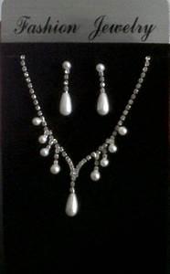 parure de bijoux strass et perles de mariage pas cher With parure mariage perle et strass