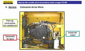 New Holand E215b Excavator Wiring Diagrams Manual In Spanish