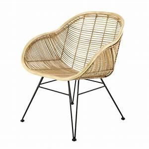Fauteuil En Osier : fauteuil en rotin pitaya maisons du monde ~ Melissatoandfro.com Idées de Décoration