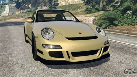 Porsche 911 (997) Gt3 Rs 2007 For Gta 5