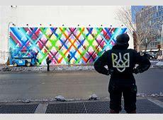 Streets Maya Hayuk – Bowery & Houston Mural Part I