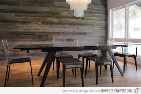 Contemporary Homes Interior Designs 15 Delightful Dining Rooms With Wooden Wall Panels Home Design Lover