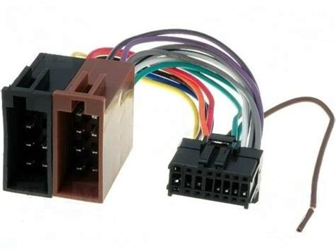 Pioneer Car Radio Stereo Pin Wiring Harness Loom Iso