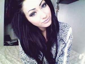 black, cute, girl, hair, pretty - image #256381 on Favim.com
